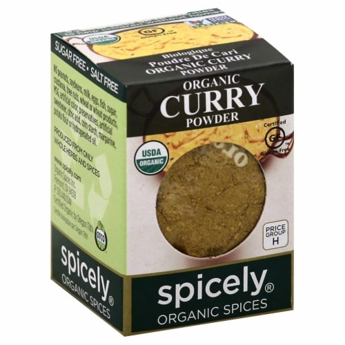 Spicely Organic Curry Powder Perspective: front