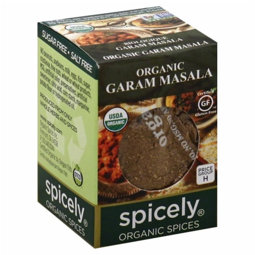 Spicely Organic Garam Masala Perspective: front