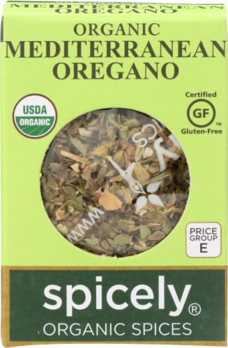 Spicely Organic Mediterranean Oregano Perspective: front