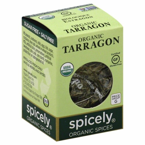 Spicely Organic Tarragon Perspective: front