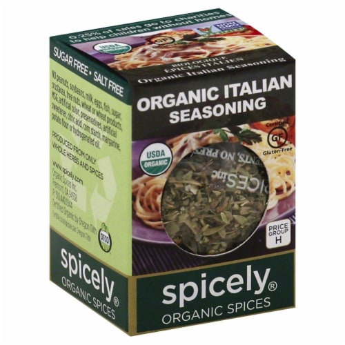 Spicely Organic Italian Seasoning Perspective: front
