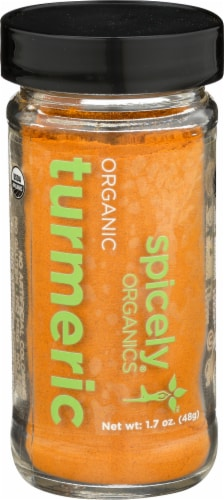 Spicely Organics Turmeric Perspective: front