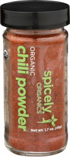 Spicely Organic Chili Powder Perspective: front