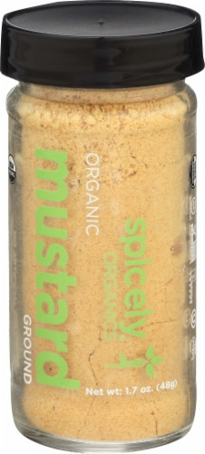 Spicely Organics Ground Mustard Perspective: front