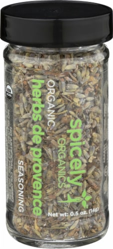 Spicely Organics Herbs De Provence Seasoning Perspective: front