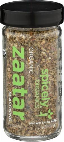 Spicely Organic Zaatar Seasoning Jar Perspective: front