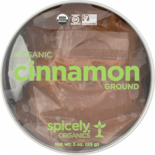 Simply Organic Ground Cinnamon Perspective: front