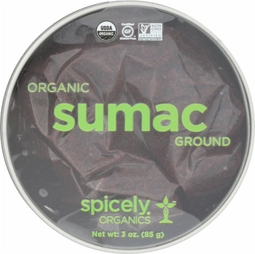 Spicely Organics Ground Sumac Perspective: front