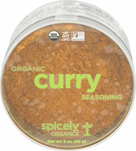 Spicely Organics Curry Seasoning Perspective: front