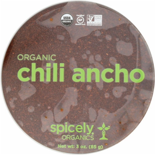 Spicely Organics Organic Chili Ancho Perspective: front