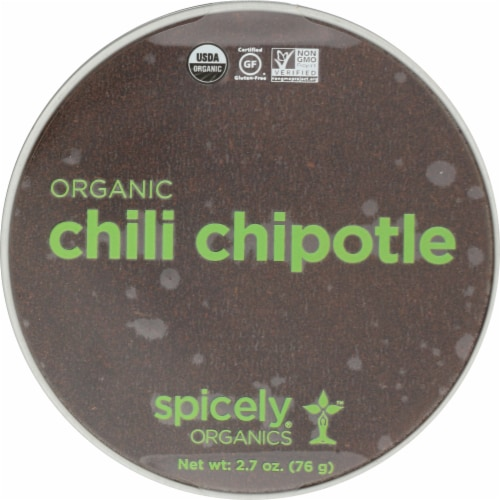 Spicely Organic Chili Chipotle Perspective: front