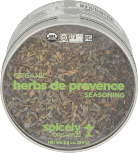 Spicely Organics Herbs de Provence Perspective: front