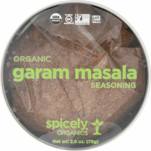 Spicely Organics Garam Masala Perspective: front