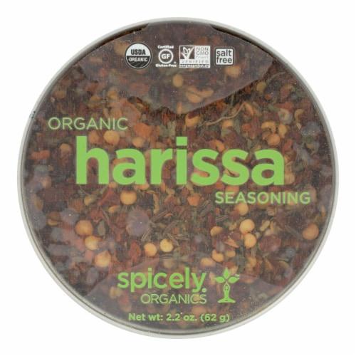 Spicely Organics Organic Harissa Seasoning Perspective: front