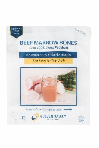 GVI Grass-Fed Beef Marrow Bones Perspective: front