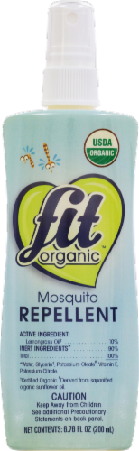 Fit Organic Mosquito Repellent Perspective: front