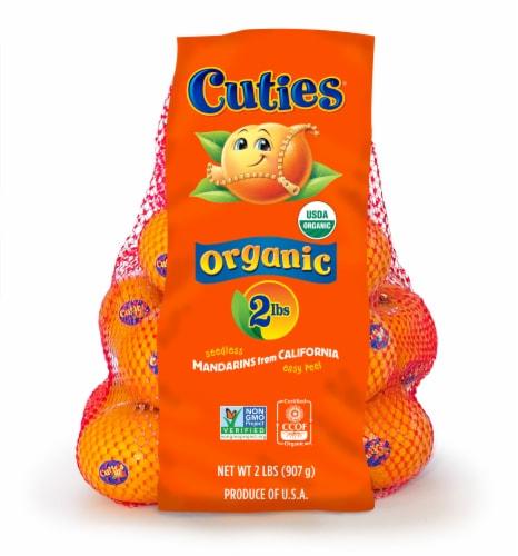 Organic Mandarins 2lb Bag Perspective: front