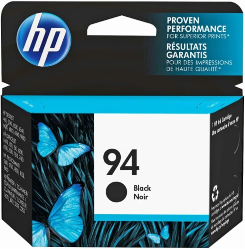 HP 94 Ink Cartridge - Black Perspective: front