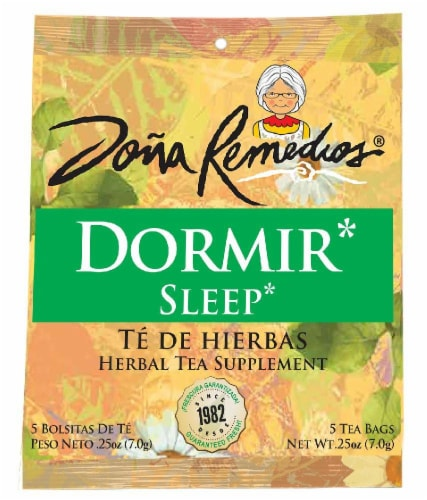Dona Remedios Dormir* Sleep Tea Perspective: front