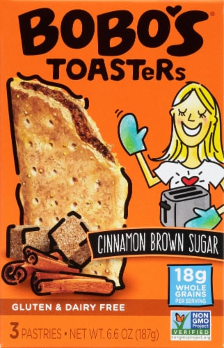 Bobo's® Cinnamon Brown Sugar Toaster Pastries Perspective: front