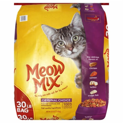 Meow Mix Original Choice Dry Cat Food Perspective: front
