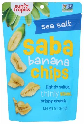 Sun Tropics Island Sea Salt Saba Banana Chips Perspective: front