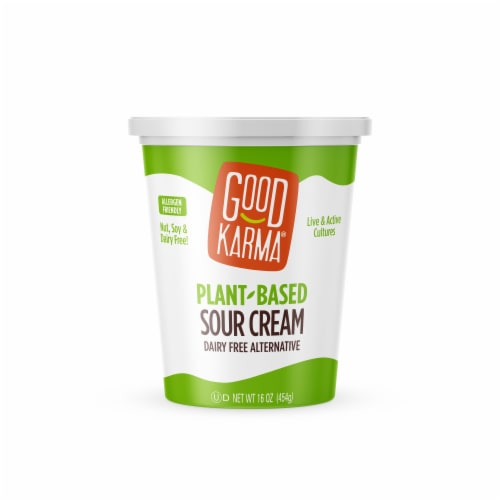 Good Karma Plant-Based Sour Cream Perspective: front