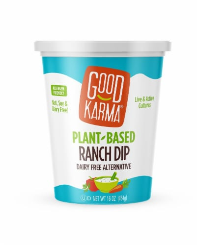 Good Karma Plant-Based Ranch Dip Perspective: front