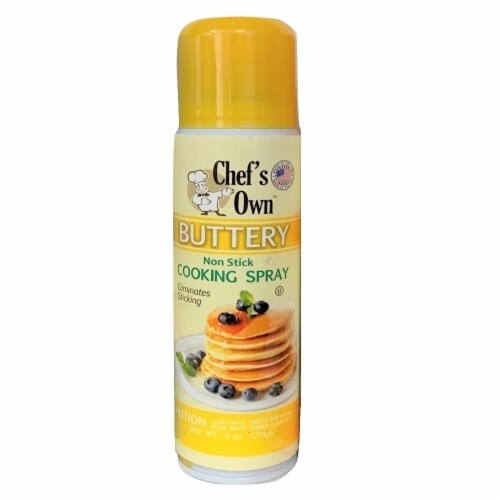 Chef's Own™ Butter Flavor Cooking Spray Perspective: front
