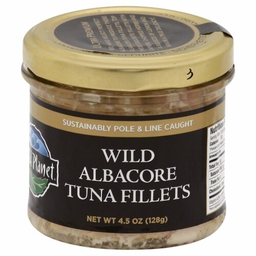 Wild Planet Wild Albacore Tuna Fillets Perspective: front