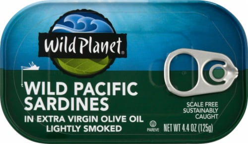 Wild Planet Wild Sardines in Extra Virgin Olive Oil Perspective: front