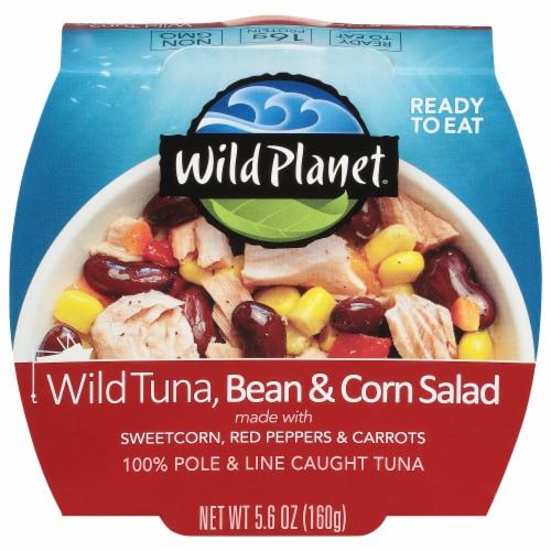 Wild Planet Tuna Bean & Corn Salad Bowl Perspective: front