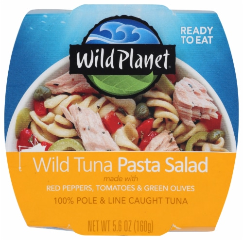 Wild Planet Tuna Pasta Salad Bowl Perspective: front