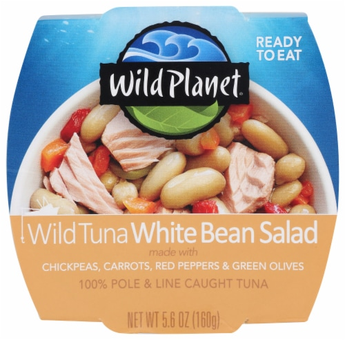 Wild Planet Tuna White Bean Salad Bowl Perspective: front