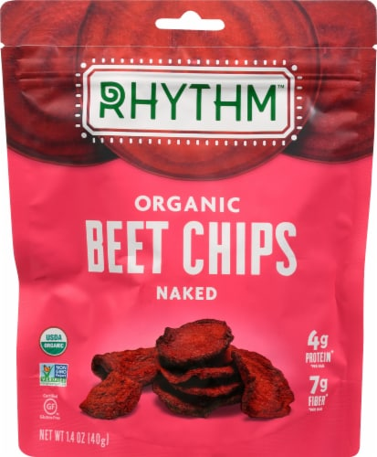 Rhythm Superfoods Naked Beets Chips Perspective: front