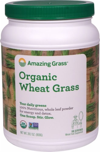 Amazing Grass  Organic Wheat Grass Powder Perspective: front