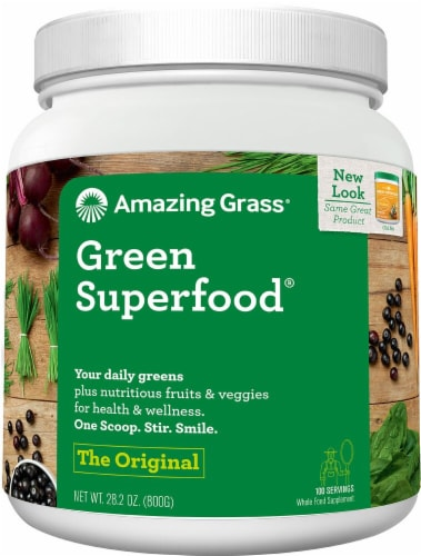 Amazing Grass  Green SuperFood® Drink Powder Perspective: front