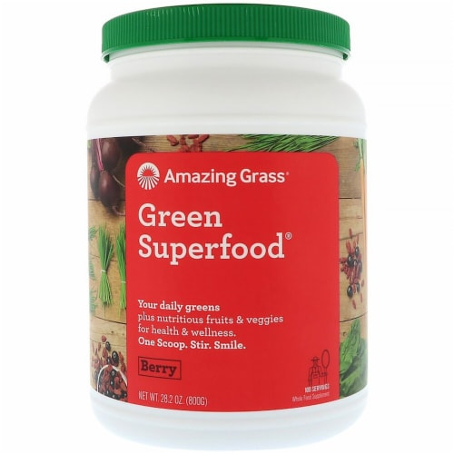 Amazing Grass  Green SuperFood®   Berry Perspective: front