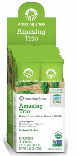 Amazing Grass  Amazing Trio Powder Perspective: front