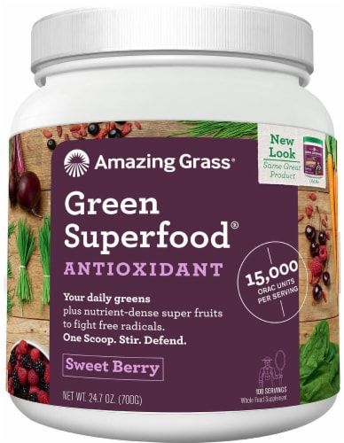Amazing Grass  GreenSuperFood® Drink Powder Perspective: front
