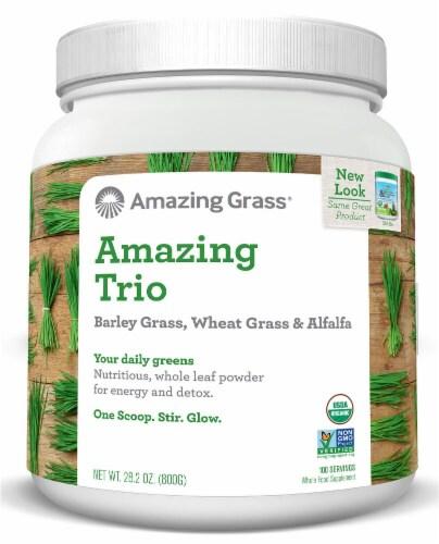 Amazing Grass  Amazing Trio Powder Perspective: front