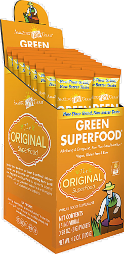 Amazing Grass Green Superfood Powder Perspective: front