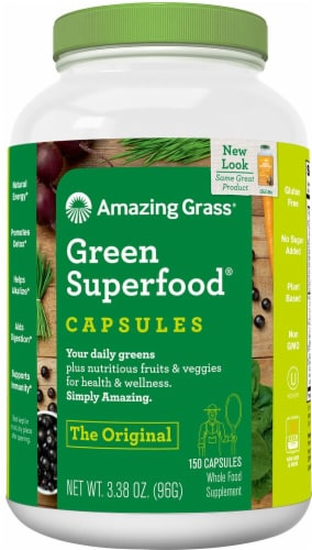 Amazing Grass  Green SuperFood® Perspective: front