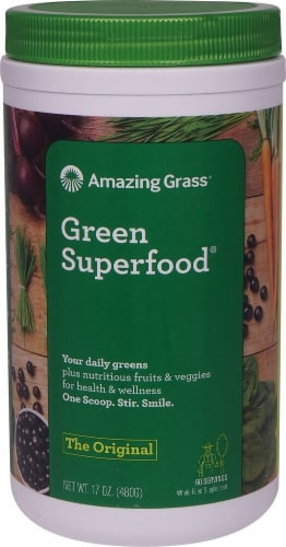 Amazing Grass  Green SuperFood® Drink Powder   Original Perspective: front