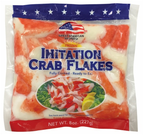 Great American Seafood Imitation Crab Flakes Perspective: front