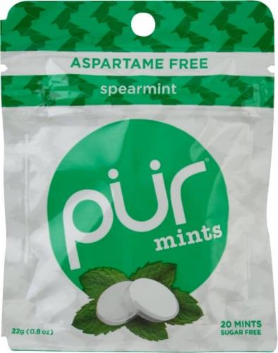 Pur Spearmint Mints Perspective: front
