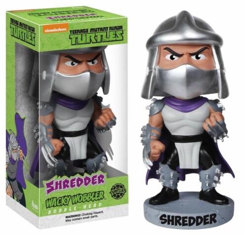 Funko Teenage Mutant Ninja Turtles Shredder Wacky Wobbler Bobble Head Perspective: front