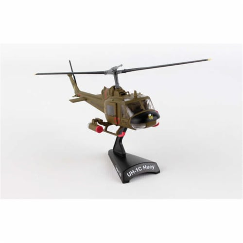Postage Stamp Planes PS5601 US Army UH-1c Huey Gunship 1st Cavalry Divisio Perspective: front
