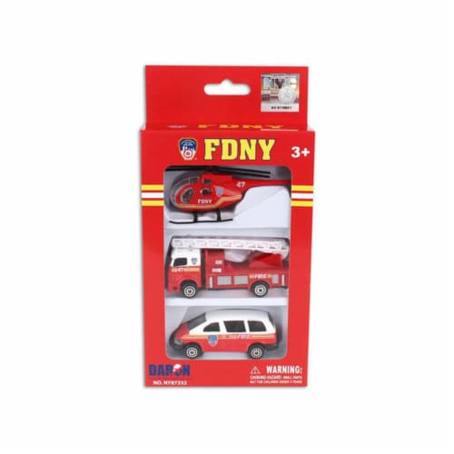 Merchandise NY87332 Fdny Vehicle Set, 3 Pieces Perspective: front