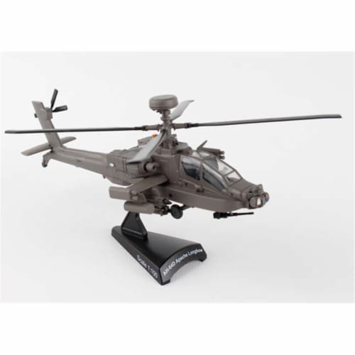 Postage Stamp Planes PS5600 1-100 AH-64D Apache Longbow Perspective: front